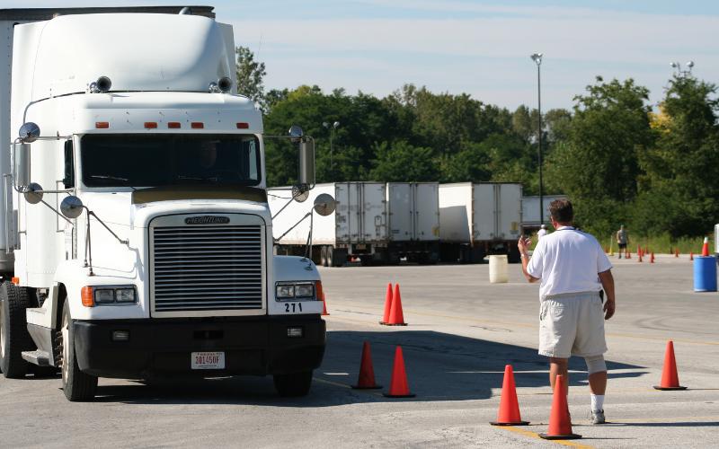 the trucking companies that train hire felon