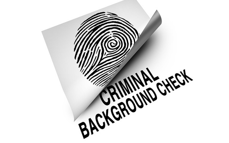 what show up on the fingerprint background checks