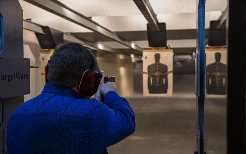 Can a Felon Go To a Shooting Range?