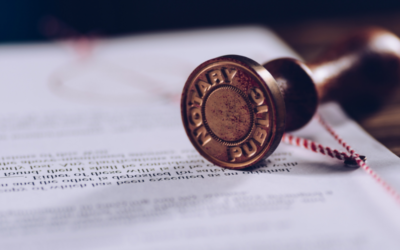 can felon become a notary