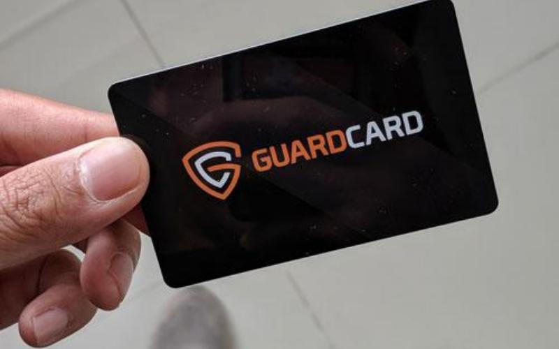 can felon get the guard card