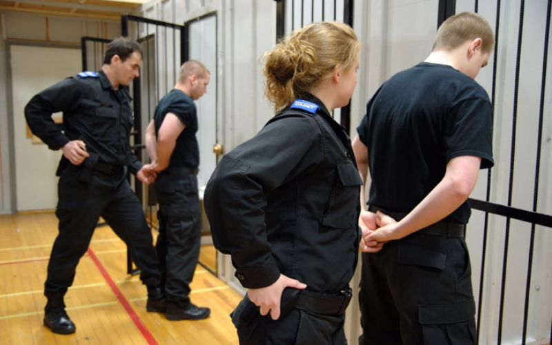 can felons become a correctional officer