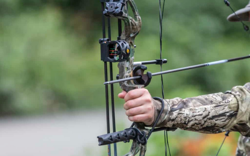 can felons own the compound bow