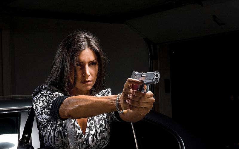 can i own the gun if my husband is felon
