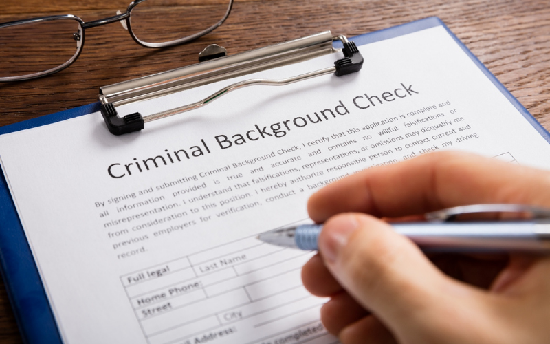 do hospitals run the background checks