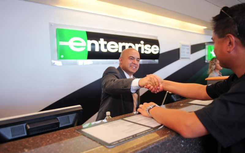 does enterprise run the background check