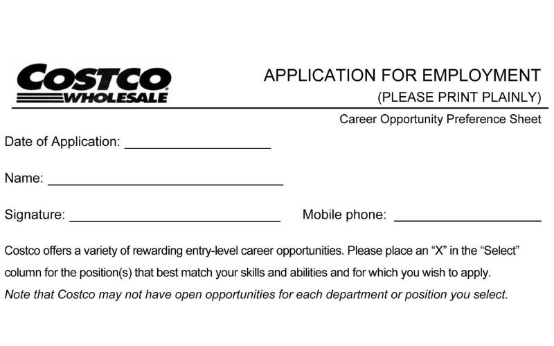 does the costco hire a felon