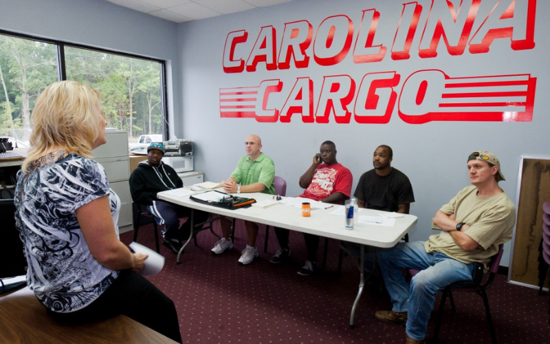 second chance trucking company cargo