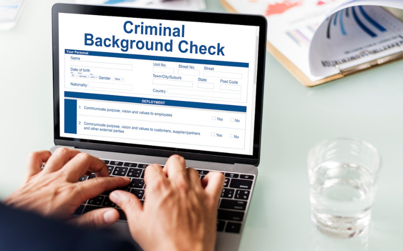 can employer run the background check without consent