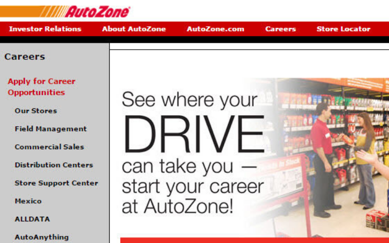 does the autozone run background check