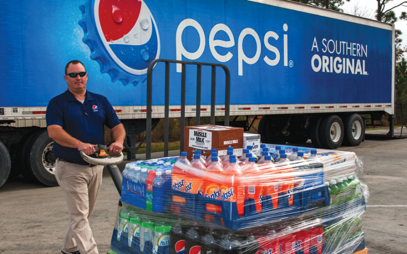 does the pepsi hire felons