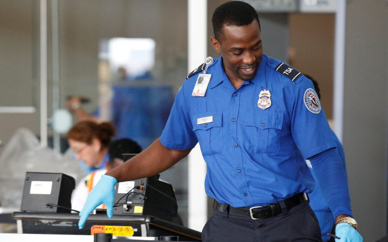 does tsa run background check