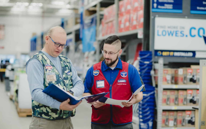 lowe's interview question ans