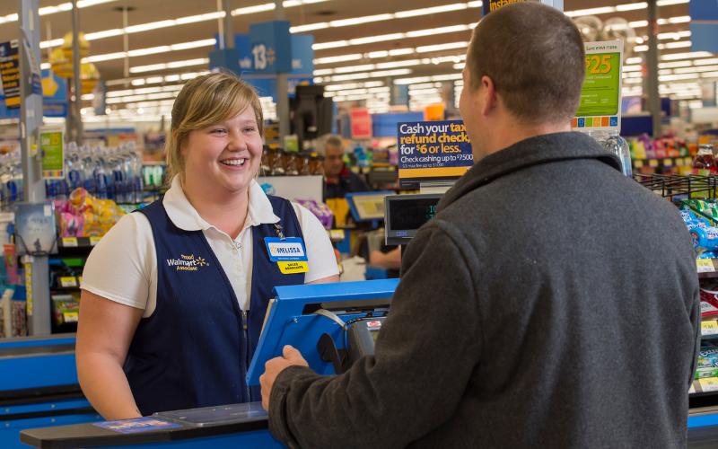walmart cashier interview question tip