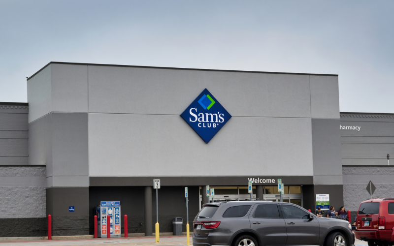 How to fill the application for a job role at Sam's Club