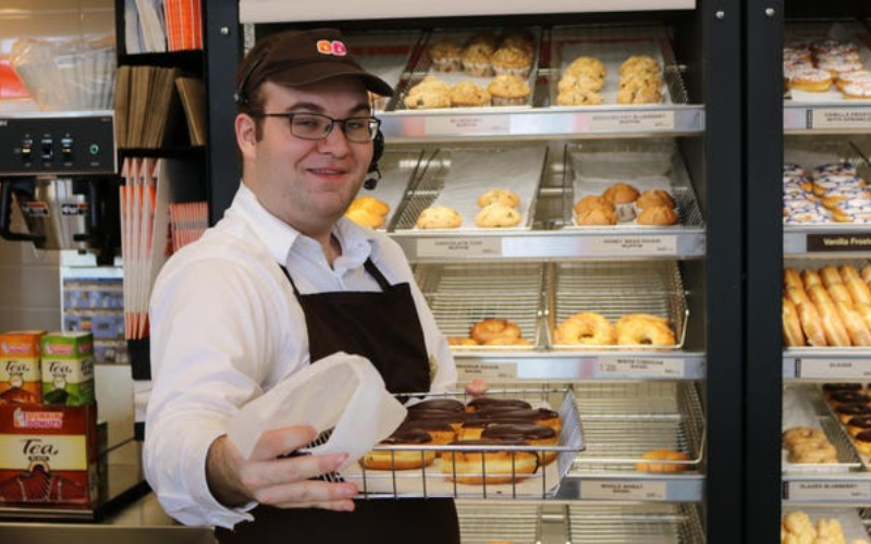 dunkin donuts application guide