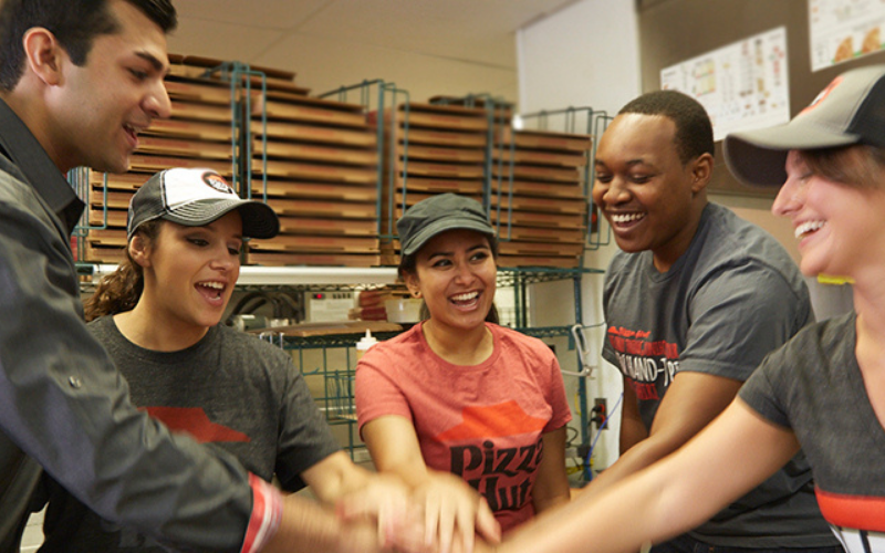 pizza hut team member interview questions guide