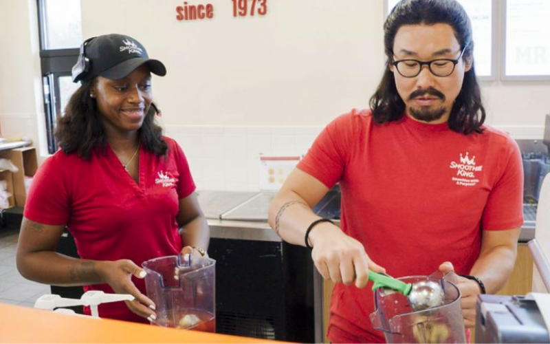 smoothie king interview question