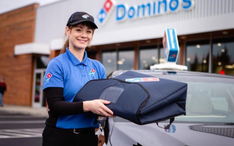 the domino's pizza application guide