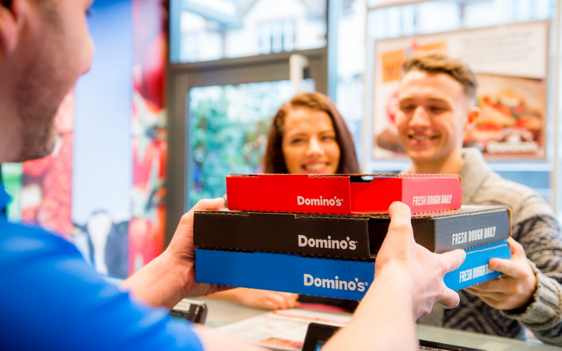 the domino's pizza application tips