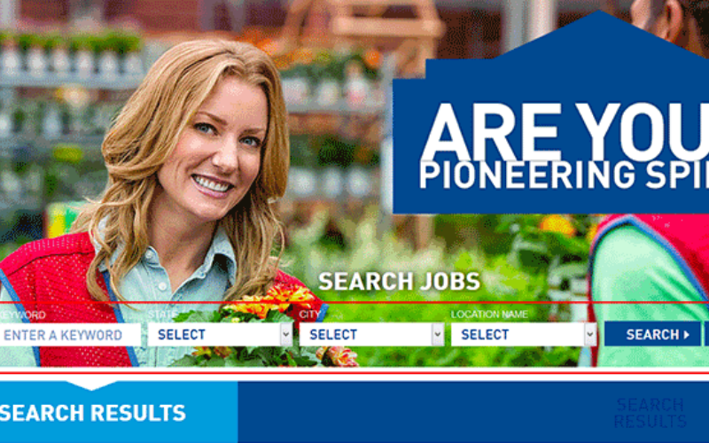 the lowes application tips