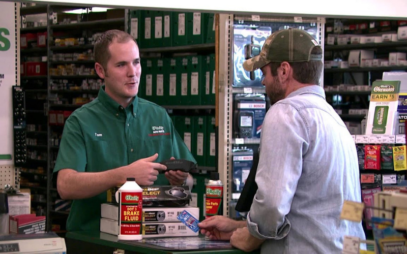 the oreilly auto parts application