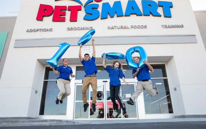 the petsmart application