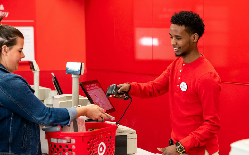 the target application