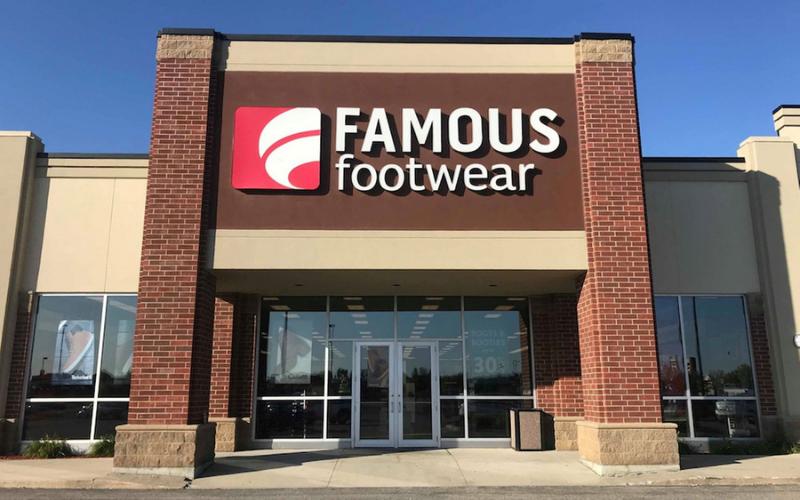 famous footwear application