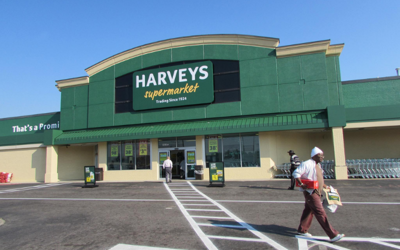 harveys supermarket application