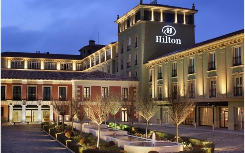 hilton hotels application