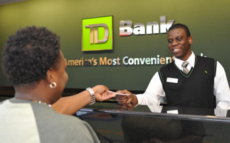 td bank application guide