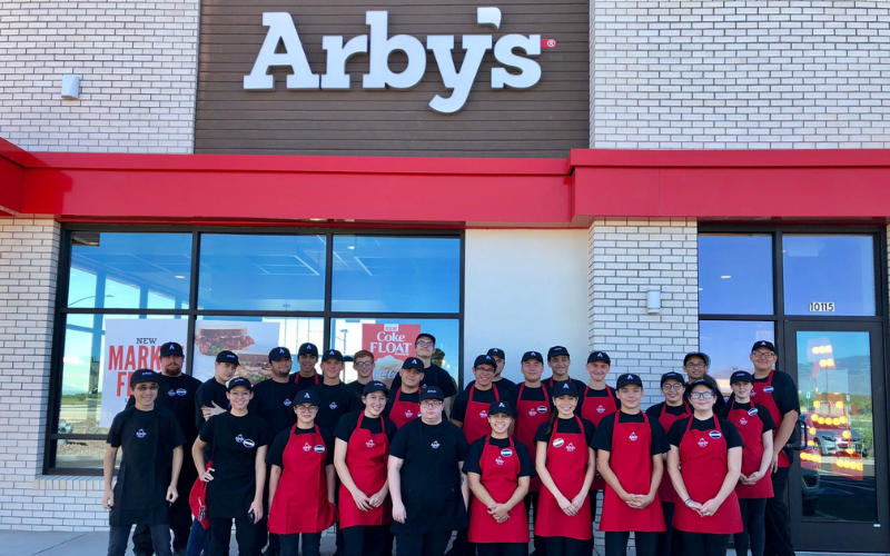 the arbys application tips