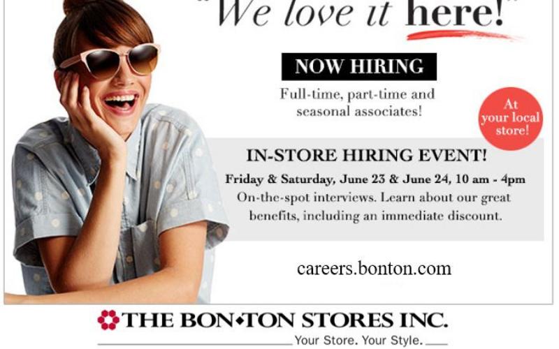 the bon ton application