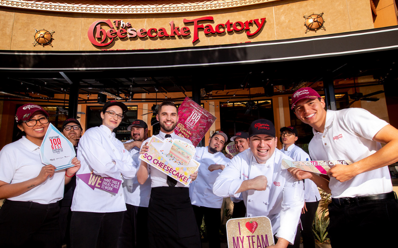 the cheesecake factory application
