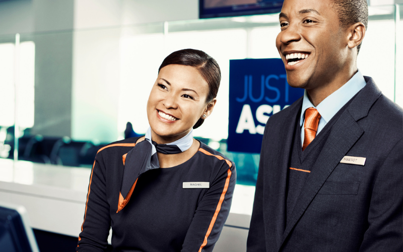 the jetblue airways application
