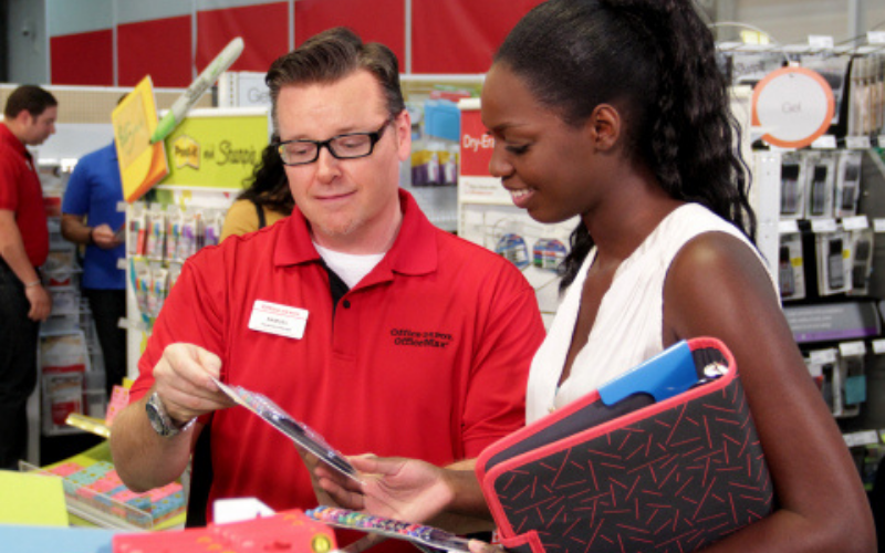 the office depot application tip