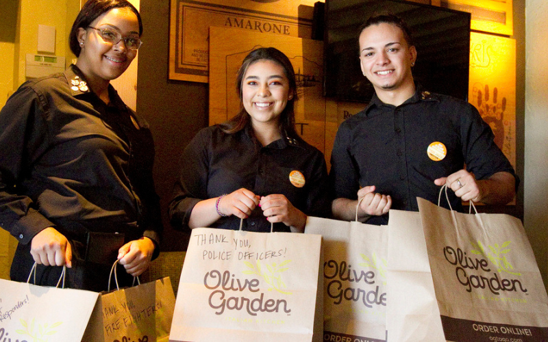 the olive garden application guide