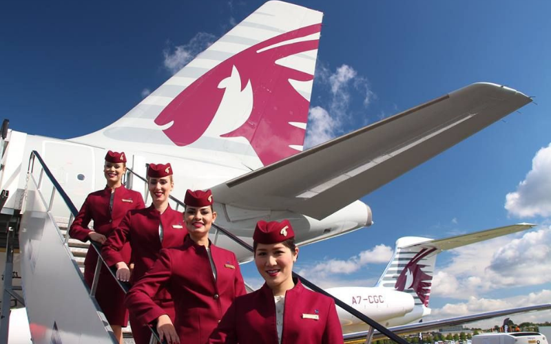 the qatar airways application tip