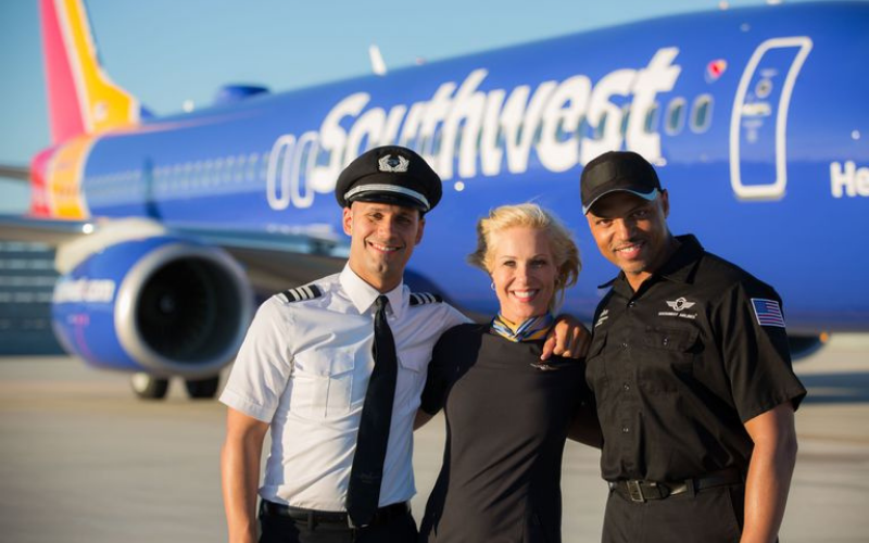 the southwest airlines application