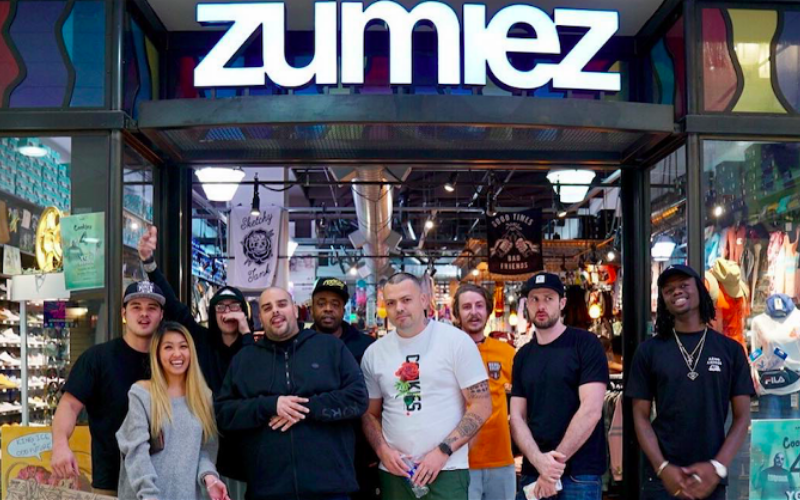 the zumiez application