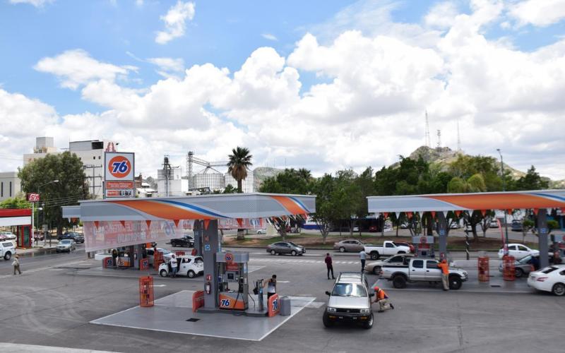 76 gas station application tip
