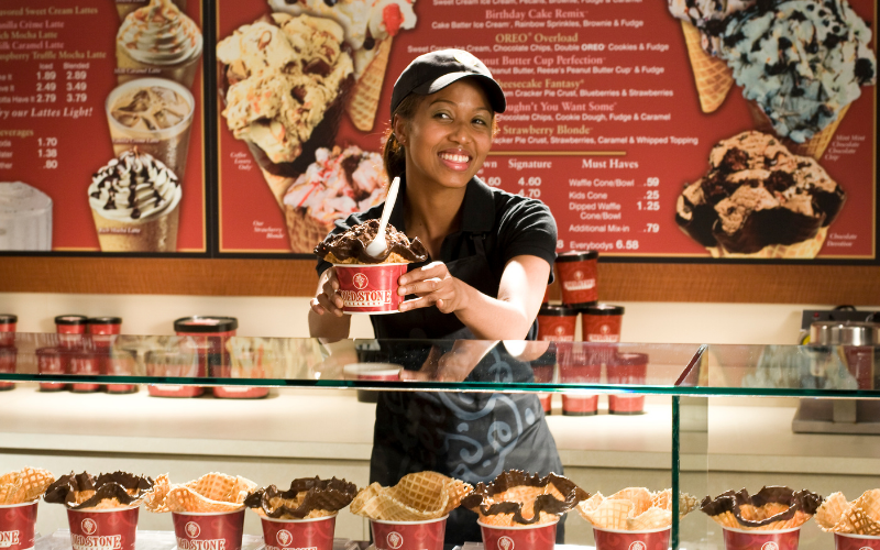 cold stone creamery application tip