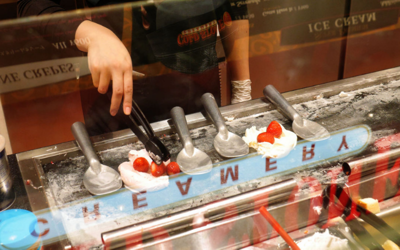 cold stone creamery application tips