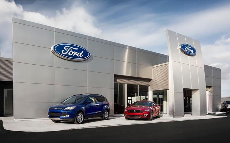 ford dealership application
