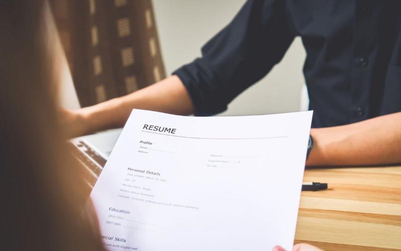job title on resumes