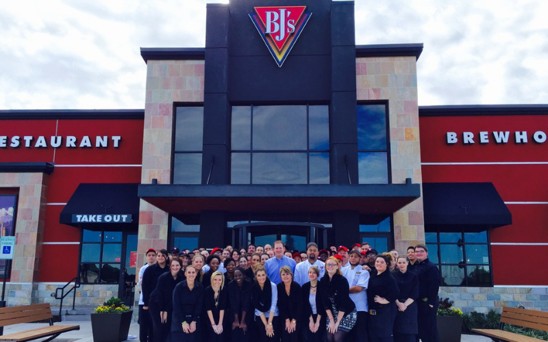 the bjs restaurant brewhouse application