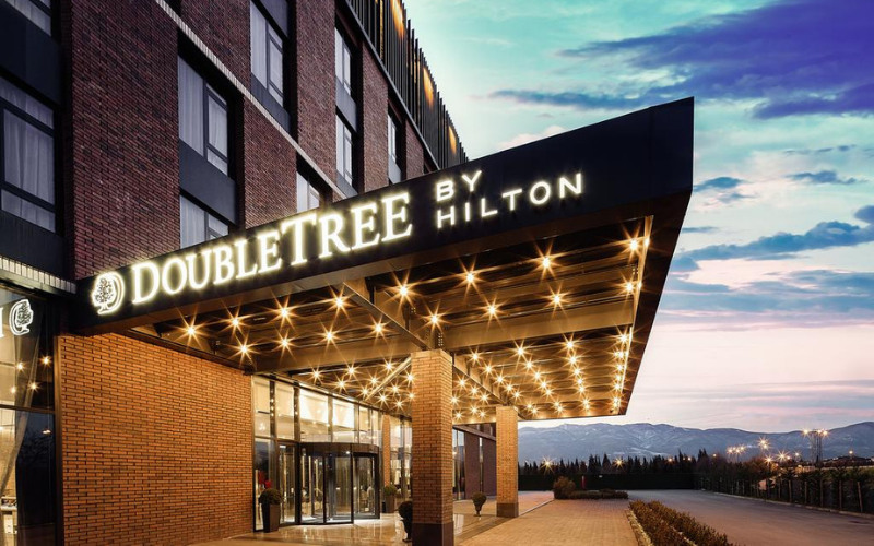 the doubletree application tips