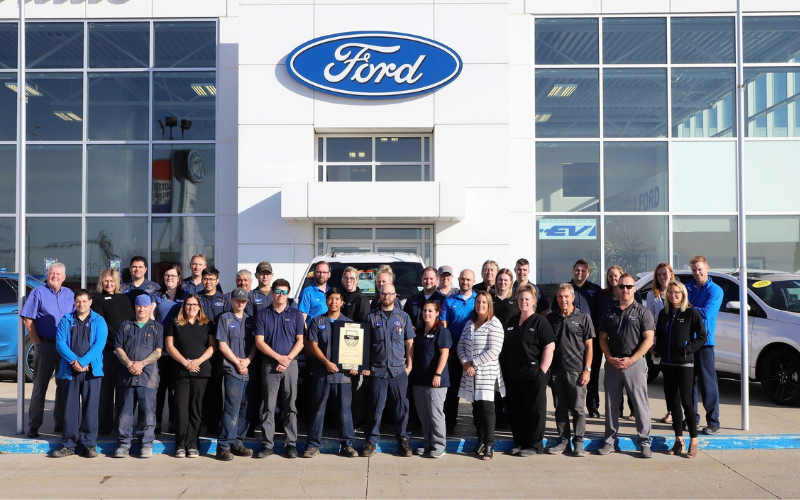 the ford dealership application
