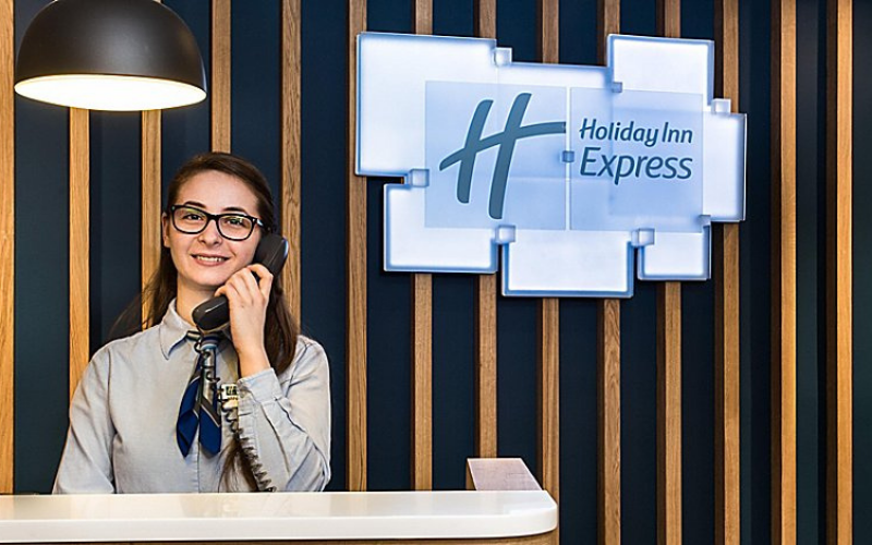 the holiday inn express application tip